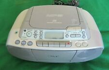SONY CD RADIO CASSETTE Portable System Player