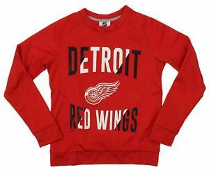 Outerstuff NHL Youth/Kids Detroit Red Wings Performance Fleece Sweatshirt
