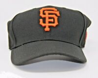 New Era San Francisco SF Giants Game 59Fifty Fitted Hat (Black)  Size 7 New