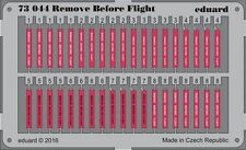 Eduard 1/72 Remove Before Flight STEEL # 73044