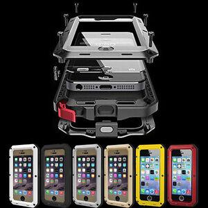 For Iphone 5 6 ,Swimming Diving Drifting Sea Mobile Phone Metal Waterproof Case