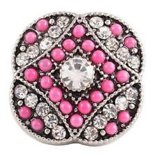 Fits Ginger Snap Rhinestone Ginger Snaps Magnolia Vine Button 18mm Jewelry Charm