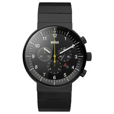 Braun BN0095BKBKBTG Mens Prestige Black Chronograph Watch RRP £525