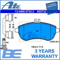 Mercedes-Benz Front DISC BRAKE PAD SET OEM Heavy Duty Ate 13046027322 0074205520