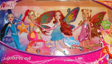 Jakks Pacific Winx Club Good Vs Evil Icy Bloom Flora Stella Enchantix Dolls