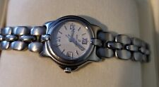 works - orig price $ 2,550.00 Bertolucci Womens Watch Stainless steel Band -