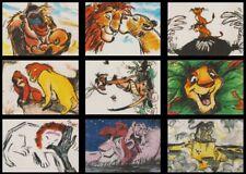 1994 DISNEY LION KING SERIES 2 THERMOGRAPHY CHASE SET