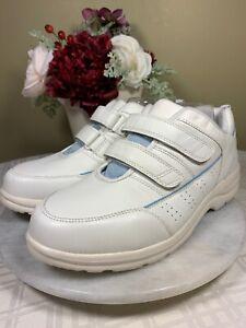 NEW Dr. Comfort MOVE Orthopedic Diabetic White Leather EU 41 Women 11 W Men 10 W