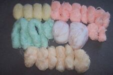 Unbranded Acrylic Lot Crocheting & Knitting Yarns