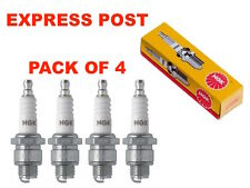 NGK SPARK PLUGS SET BP6HS X 4 - Holden Sunbird LX UC Suzuki Carry SK410