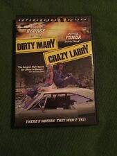 DIRTY MARY CRAZY LARRY DVD SUPERCHARGER EDITION SUSAN GEORGE PETER FONDA