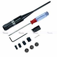 Red Dot Laser Bore Sight Kit Boresighter for .22 to .50 Caliber Handgun Rifles