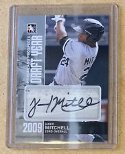 2011 ITG Heroes and Prospects Draft Year Silver /39 Jared Mitchell #DY-JM Auto