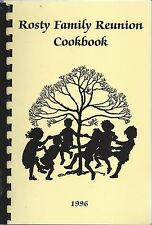 EAGAN MN 1996 THOMAS & EVA ROSTY FAMILY REUNION COOK BOOK * GENEALOGY * HISTORY