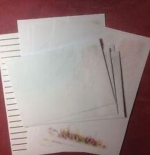 Pink Heather Lettre écriture papeterie Papier avec des enveloppes