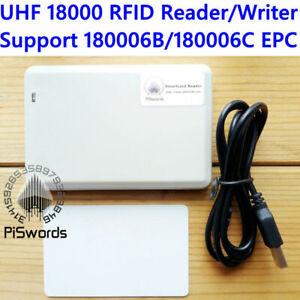 860Mhz~960Mhz UHF RFID ISO 18000 6C 6B reader writer 18000-6B 18000-6C cloner