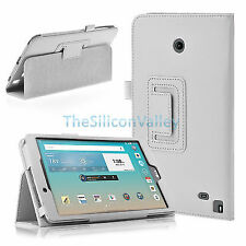 White Tablet eBook Cases, Covers & Keyboard Folios for LG