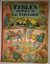 Fables choisies de La Fontaine