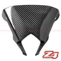 2011-2013 FZ-8 Fazer Upper Front Nose Windshield Screen Fairing Carbon Fiber