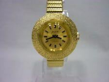 wunderschöne große Glashütte Damen Armbanduhr Kaliber 09-20