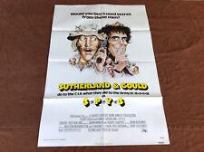 1974 Spys Original Movie House Full Sheet Poster