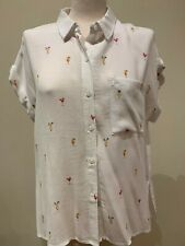 NEW RAILS HAPPY HOUR WHITNEY SHIRT SIZE M