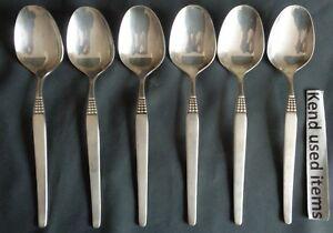 DRACHE SUPRASIL 034 PERL 100 6x verzilverde tafellepel 19,7cm lepel Loffel spoon
