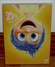 DEL REVES INSIDE OUT DISNEY PIXAR DVD NUEVO PRECINTADO SLIPCOVER (SIN ABRIR) R2