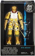 "Star Wars The Black Series 6"" Wave 7 #10 Bossk Bounty Hunter Figure Ultra Rare"