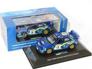 1/43 Subaru Impreza S7 WRC `01 Winner  Rally Monte Carlo 2002 #10 T.Makinen