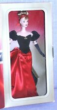 Nib 1998 Avon Winter Splendor Barbie Doll #19357 Mattel Gorgeous evening gown