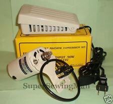 SEWING MACHINE MOTOR w/ LARGE foot PEDAL FOR SINGER HA1 66 99K  15 CLASS