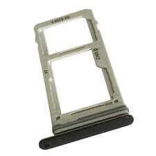 Black Original Dual Sim Card+Micro SD Holder Slot Tray For Samsung Galaxy S9