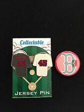 Boston Red Sox lapel pin/magnet-Pedro Martinez-Collectables/Gift Item-Set of (3)