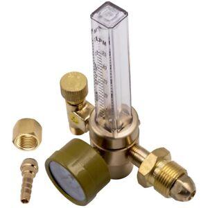 Argon Mig Flow Meter Pressure Regulator Weld Gauge Gas for Hobart welder,