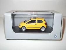 VW Fox, Schuco, gelb, 1:43, Volkswagen, Modellauto
