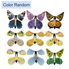 GREETING CARD MAGIC ! Flying Butterfly work with ALL GREETING CARDS Random Color
