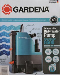 Gardena Schmutzwasser-Tauchpumpe 8500 Aquasensor 1797-20