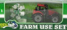 8138-1 Traktor rot mit Heuwender