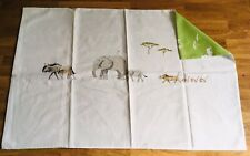 Sophie Allport On Safari 1 Housewife Reversible Pillowcase Cotton Blend New f