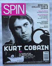 Spin Magazine 2004 Nirvana Kurt Cobain Special Collector'S Issue 10 Year Death