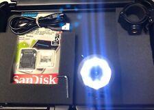 Fire Fighter Flashlight HD 720P Helmet Cam Video Camera Recorder BlackJack 32gb