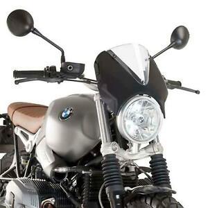 Puig Retrovision Nose Fairing Black Smoke Screen BMW R Nine T Scrambler 17 - 21