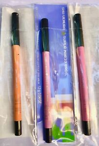 3 x SHU UEMURA Drawing Pencil Eye Liners! M Mango, Dreamy Peach Pink, Sweet Pink