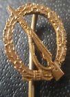 ✚7856✚ German Infantry Assault Badge Bronze post WW2 1957 pattern miniature ST&L