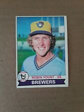 1979 Topps Robin Yount card #95. MILWAUKEE Brewers.