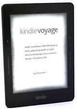 "Amazon Kindle Voyage E-reader, 6"" Wi-Fi + 3G - Black  T5-3C -  33-6C"