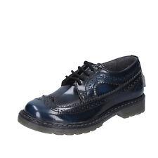 scarpe bambino BEVERLY HILLS POLO CLUB 30 EU classiche blu pelle lucida  BX865-30 2cc96f475a7