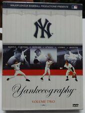 Yankeeography - Vol. 2 (DVD, 2004, 3-Disc Set) Mickey Mantle Yankees Lou