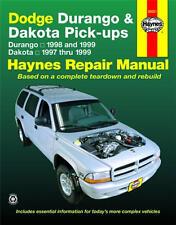 Durango 1998 & 1999 & Dodge Dakota 1997 to 1999 Haynes Repair Manual 30021